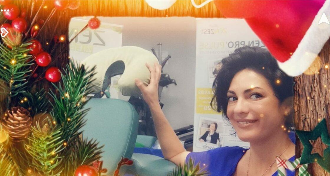 Massage pause détente au bureau